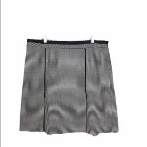 Lane Bryant Plus Size Houndstooth Skirt